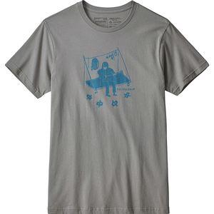 파타고니아 Patagonia Portaledge Concert Organic T-Shirt - Mens