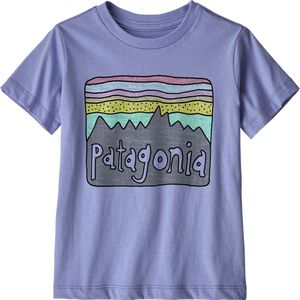 Patagonia Fitz Roy Skies Organic T-Shirt - Infant Girls'