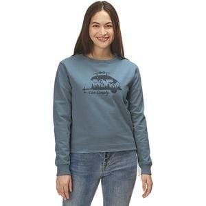 Patagonia Live Simply Trailer Uprisal Crew Sweatshirt - Women's