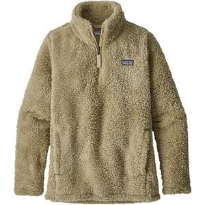 파타고니아 걸즈 1/4 집업 자켓 Patagonia Los Gatos 1/4-Zip Jacket - Girls,El Cap Khaki