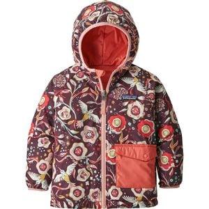 Patagonia Reversible Puff-Ball Jacket - Infant Girls'