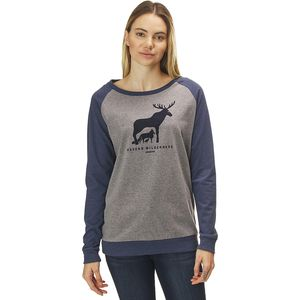 파타고니아 긴팔 티셔츠 Patagonia Defend Wilderness Responsibili-Tee Shirt - Womens