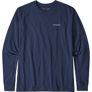 PatagoniaLine Logo Ridge Long-Sleeve Responsibili-T-Shirt - Men's