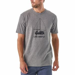 PatagoniaLive Simply Wind-Powered Responsibili-T-Shirt - Men's