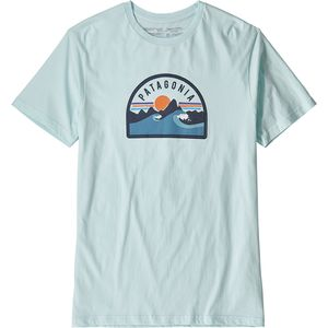 파타고니아 Patagonia Boardie Badge Organic T-Shirt - Mens