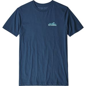 파타고니아 Patagonia The Less You Need Organic T-Shirt - Mens