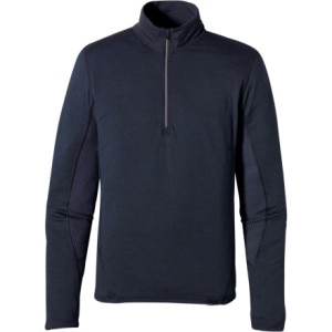 photo: Patagonia Wool 3 Zip Neck base layer top
