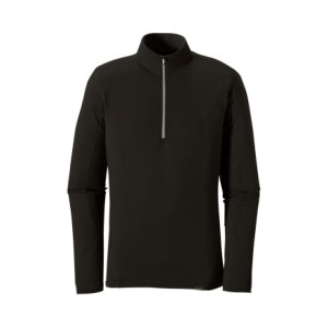 photo: Patagonia Men's Wool 3 Zip Neck base layer top