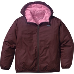 Patagonia Reversible Puff-Ball Jacket - Girls