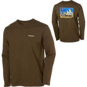 Patagonia Fitz Roy Study T-Shirt - Long-Sleeve - Mens