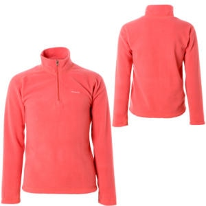 photo: Patagonia Girls' Micro D Zip Neck fleece top