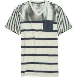 Siphon Striped V-Neck T-Shirt - Short-Sleeve - Men's