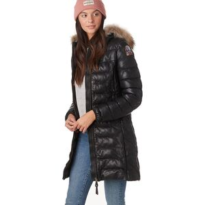 Parajumpers Demi Leather Insulated Jacket - Women's