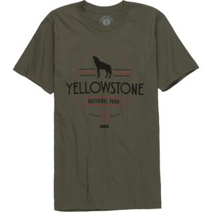 Parks Project Yellowstone Wolf Crew - Short-Sleeve - Men's