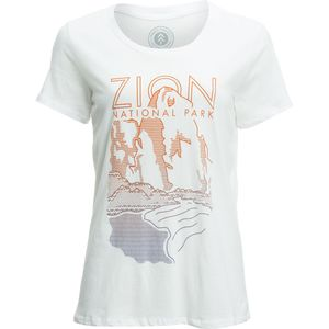 Parks Project Zion Cliff T-Shirt - Short-Sleeve - Women's