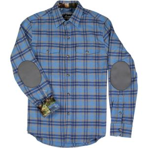 Pladra Leon Smokey Blue Flannel Shirt - Men's