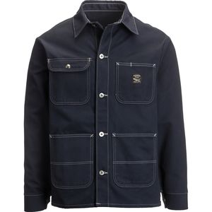 Pointer Brand Navy Duck Chore Coat - Men's