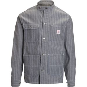 Pointer Brand Fisher Stripe Banded Collar Jacket - Men's