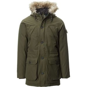 Penfield Hoosac Real Fur Hooded Down Mountain Parka - Men's