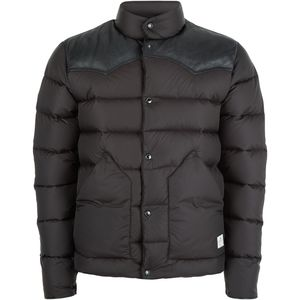 Penfield Pelam Leather Yoke Down Jacket - Men's