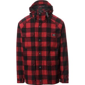Penfield Kasson Buffalo Plaid Hooded Parka - Men's