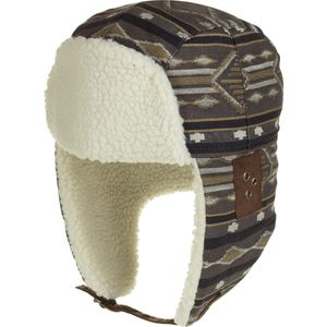 Pendleton Sherpa-Lined Cotton Jacquard Trapper Hat