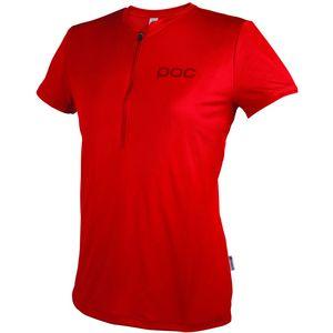 POC Trail Light Zip T-Shirt - Short Sleeve - Women's