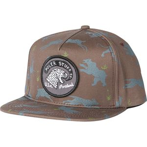 Poler Tiger Eye Snapback Hat