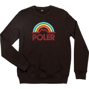 Poler Mountain Rainbow Crew Sweatshirt - Men's