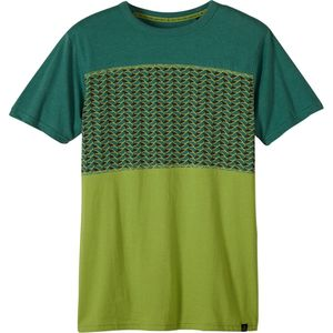 Prana Throttle Blocked Crew - Short-Sleeve - Men's