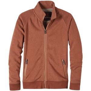 Prana Lifetime Full-Zip Mock Sweater - Men's