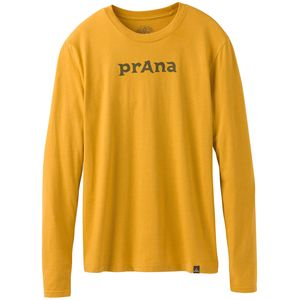 Prana Logo Long-Sleeve T-Shirt - Men's