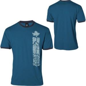 prAna Accomplished Ringer T-Shirt - Short-Sleeve - Mens