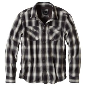 prAna Asylum Flannel Shirt - Long-Sleeve - Men's