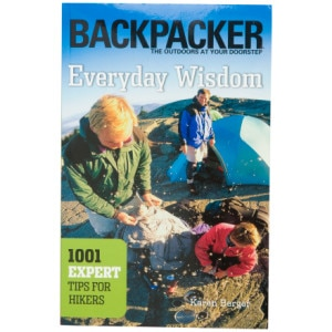 photo: The Mountaineers Books Backpacker's Everyday Wisdom camping/hiking/backpacking book