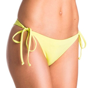 Roxy Girls Just Wanna Have Fun Mini Tie Side Bikini Bottom - Women's