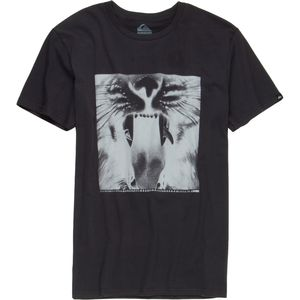 Quiksilver Java Tiger Slim T-Shirt - Short-Sleeve - Men's