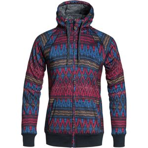 Roxy Resin Bonded Sherpa Full-Zip Hoodie - Women's