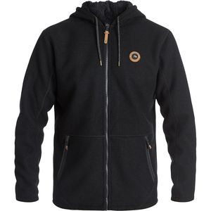 Quiksilver Into The Wild Fleece Full-Zip Hoodie - Men's
