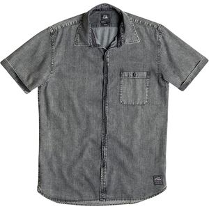 Quiksilver Rockvoks Chambray Shirt - Short-Sleeve - Men's