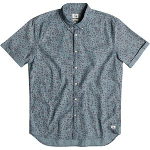 Quiksilver Micro Flowar Shirt - Short-Sleeve - Men's