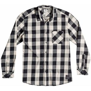Quiksilver Motherfly Flannel Shirt - Long-Sleeve - Men's