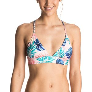 Roxy Strappy Fixed Triangle Bikini Top - Women's