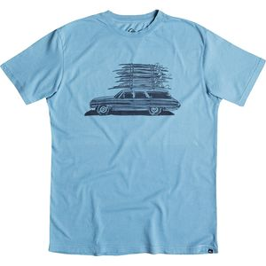 Quiksilver Board Wagon Slim T-Shirt - Short-Sleeve - Men's