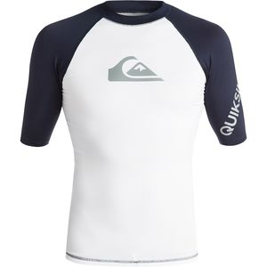 Quiksilver All Time Rashguard - Short-Sleeve - Men's