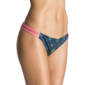 Roxy Flower Square Heart Bikini Bottom - Women's