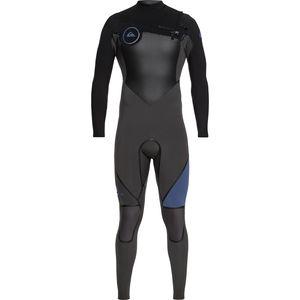 Quiksilver 4/3 Syncro Plus Chest Zip LFS Wetsuit - Men's