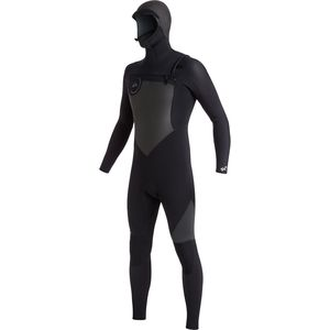 Quiksilver 5/4/3 Syncro Chest Zip GBS Hooded Wetsuit - Men's