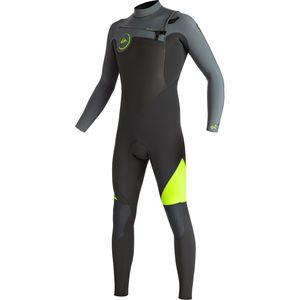 Quiksilver 4/3 Syncro Chest Zip GBS Wetsuit - Men's
