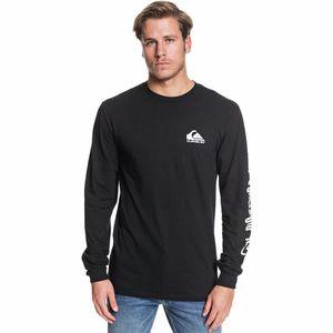 퀵실버 Quiksilver Omni Logo LS T-Shirt - Mens